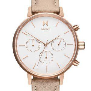 MVMT Nova Luna 38MM Women's Rose Gold Watch